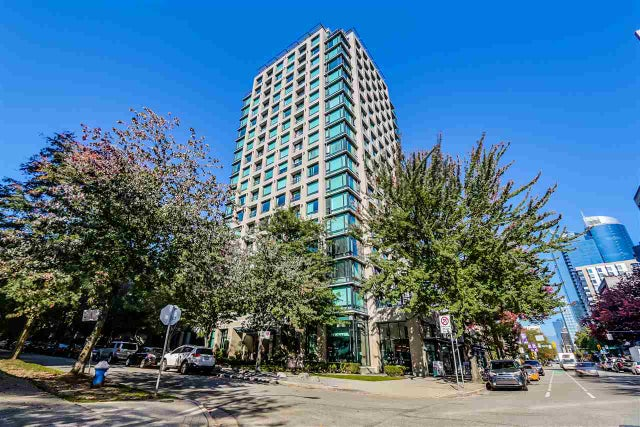 207 1003 BURNABY STREET - West End VW Apartment/Condo for sale, 1 Bedroom (R2005374) #1